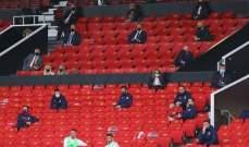 إنخفاض عدد إصابات كورونا في الدوري الانكليزي إلى النصف