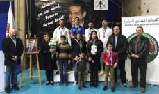 بطولات لبنان في المبارزة :3 القاب للمون لاسال ولقب لعينطورة والتعاضد