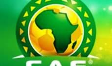 الكاف يفصح عن حكم نهائي امم أفريقيا للمحليين