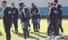 برشلونة يواصل استعداداته لمواجهة سيلتا فيغو