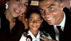 الشرطة البرتغالية تفتح تحقيقا حول فيديو ابن رونالدو