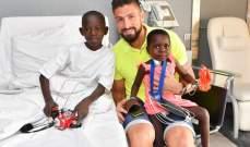 جيرو ينجز مهمة انسانية في موناكو