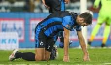 الدوري البلجيكي : خسارة مفاجئة لبروج في افتتاح المرحلة ال16