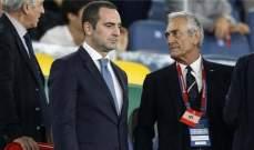 وزير الرياضة الايطالي متفائل بعودة المنافسات