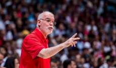 الاتحاد التونسي لكرة السلة يكشف سبب اقالة المدرب بالما