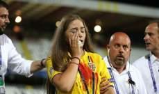 جرحى واعتقالات بعد نهاية مباراة رومانيا وفرنسا
