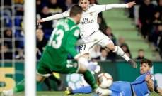 ريال مدريد يتعادل مع خيتافي