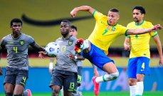 ترتيب منتخبات أميركا الجنوبية بعد الجولة الخامسة من التصفيات