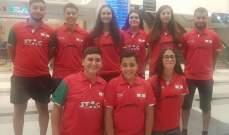 بطولة مالطا الدولية في كرة الطاولة  : 7 ميداليات للبنان منها 3 ذهبيات