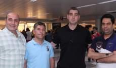 وصول المدرب الجديد لمنتخب لبنان إلى بيروت