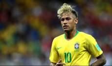 نيمار يخضع للعلاج قبل المباراة كوستاريكا