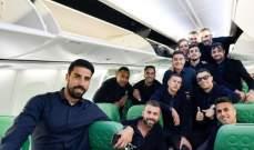 لاعبو يوفنتوس في الطريق إلى أمستردام