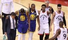 لاعبو NBA يدعمون دورانت بعد تعرضه للاصابة