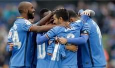 الليغا: خيتافي يعزز وضعيته بفوز مهم امام ريال سوسيداد