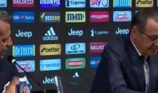 ماذا قال ساري عن رونالدو في مؤتمره الصحافي؟
