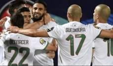 اهداف مباراة الجزائر ونيجيريا الثلاثة