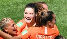 مونديال السيدات: إنتصار ثمين لهولندا على الكاميرون
