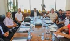 اللجنة الفنية لنادي النجمة تعقد أولى إجتماعاتها مع السقال