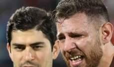 حارس منتخب لبنان يبكي بعد الخروج من كأس آسيا