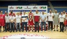 دورة ستيب أهيد سبورتس سكول للسلة : لبنان يحرز اللقب رغم السقوط امام ارمينيا