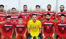 سوريا تتأهل إلى أولمبياد طوكيو وكأس آسيا تحت 23 سنة