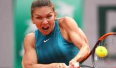 اسبوعان تفصلان هاليب عن البقاء لعام كامل في صدارة تصنيف لاعبات كرة المضرب