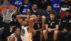 NBA: غولدن ستايت يستعيد التقدم في نهائيات السلسلة الغربية
