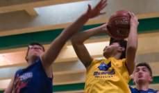 سلة: دوري جونيور NBA-LAU في كرة السلة  النتائج الكاملة لمباريات الجولة الثالثة