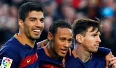 سواريز: قد ألعب مع نيمار في برشلونة مجددا