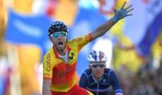 فالفيردي يفوز ببطولة العالم لسباق الدراجات الهوائية