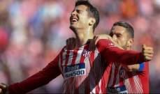 موراتا يكشف عن تمسكه في البقاء مع اتلتيكو مدريد
