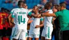 كأس امم افريقيا: انغولا تكتفي بالتعادل السلبي امام موريتانيا