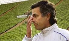 مورينيو يتحدّث عن اختبائه في سلة للغسيل في تشيلسي