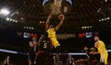 NBA : غولدن ستايت يخسر في اللحظات الأخيرة