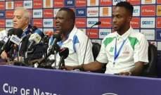 مدرب بوروندي: سنواجه نيجيريا دون خوف