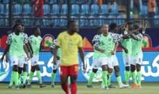 امم افريقيا: نسور نيجيريا تعبر الى ربع النهائي بفوزٍ صعبٍ على الكاميرون