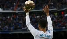 رونالدو: لست مهووسا لكنني أستحق الفوز بالكرة الذهبية