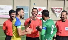 الأنصار يفوز على الصفاء وتألق للوافد الجديد سوني سعد