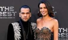 إطلالة الفيس وزوجته خوانا سانز في حفل توزيع جوائز الفيفا