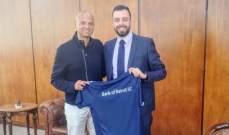 """بنك بيروت يضم المدرب البرازيلي اليكسندر ريكاردو دي سوزا """"كافو"""""""