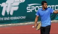 المصري كريم مأمون إلى الدور الثاني لبطولة زانغيغانغ للتنس