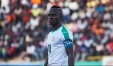 كأس أفريقيا: ماني سيغيب عن السنغال في مباراتها الأولى