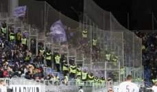 وفاة مشجّع خلال مباراة كالياري وفيورنتينا في الدوري الإيطالي