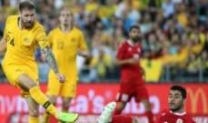 موجز المساء: أستراليا تهزم لبنان في وداعية كاهيل، رابيو يختار برشلونة وحكم يبكي والدته بعد صافرة النهاية