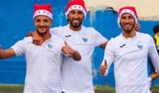 ثلاثي طرابلس يحتفل بعيد الميلاد