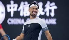 فونيني الى نصف نهائي بطولة الصين المفتوحة