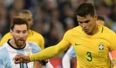 التشكيلة المتوقعة لكلاسيكو البرازيل والأرجنتين