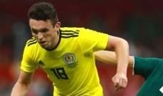 انسحاب لاعب سابع من تشكيلة المنتخب الاسكتلندي!