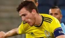 لاعب ليفربول متاح للمشاركة مع اسكتلندا