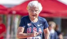 جوليا هوكينز اكبر شخص يتجاوز 100 متر ركض